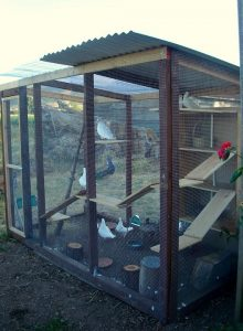 An aviary can be built by a do-it-yourselfer or with the help of a hired handy person