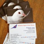 Image of MickaCoo's first ever business cards