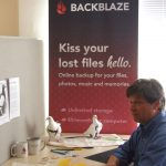 Backblaze hired MickaCoo pigeons for their April Fool's announcement