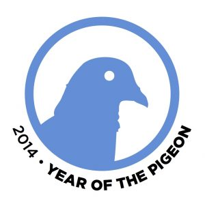 2014 Year of the Pigeon logo