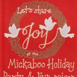 MickaCoo & Mickaboo Holiday Party 2014