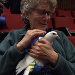Patti Breitman of the Marin Vegetarian Education Group and Dharma Voices for Animals